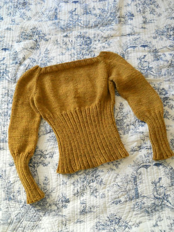 pull femme paille